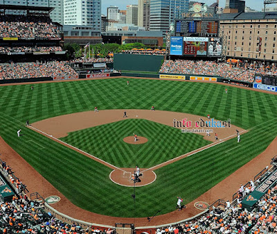 Contoh Foto Stadion Lapangan Baseball 2