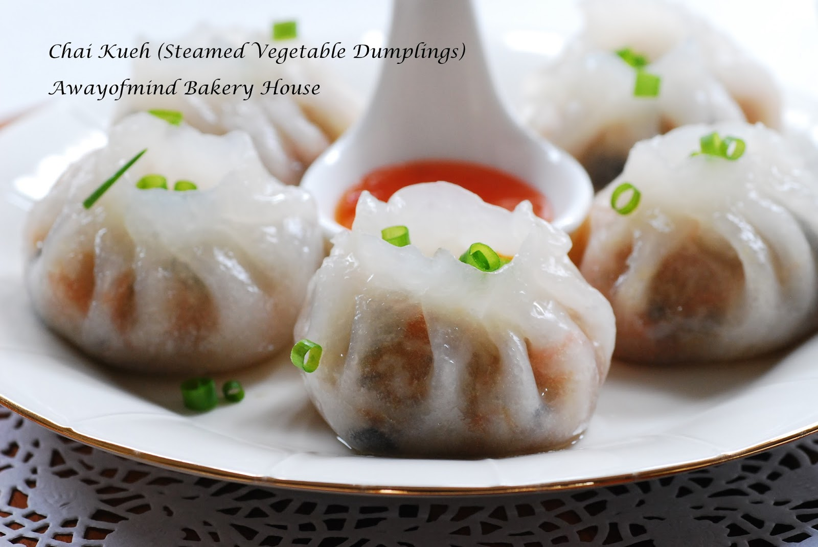 Awayofmind Bakery House: Chai Kueh (Steamed Vegetable ...