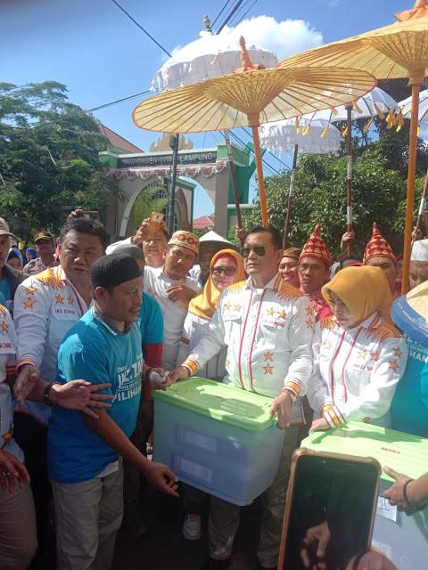 pilwakot bandar lampung komisi informasi lampung - PAWAI BUDAYA, HANTAR IKAM KE KPUD BANDAR LAMPUNG - media online lampung
