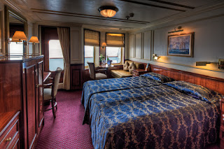 Guest cabin aboard Star Cruise Lines' Royal Clipper