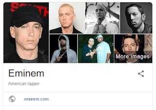 Eminem's Wikipedia page