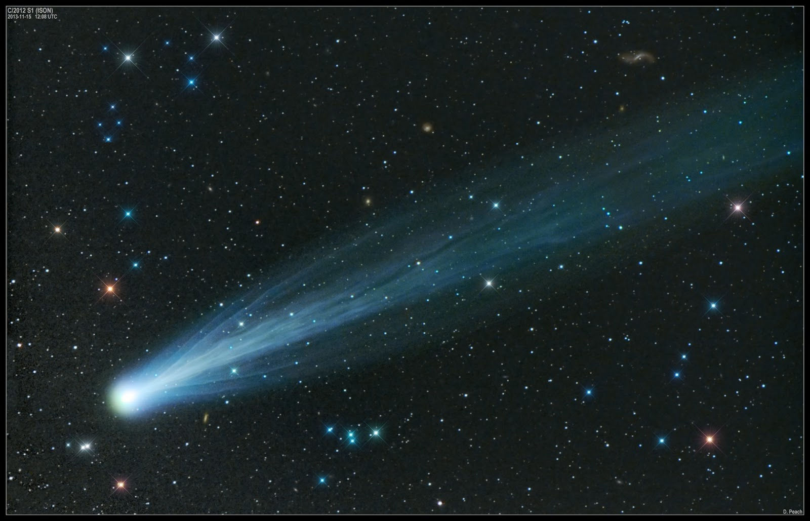 Andrew Fraknoi: Exploring the Universe: Comet ISON Ready ...