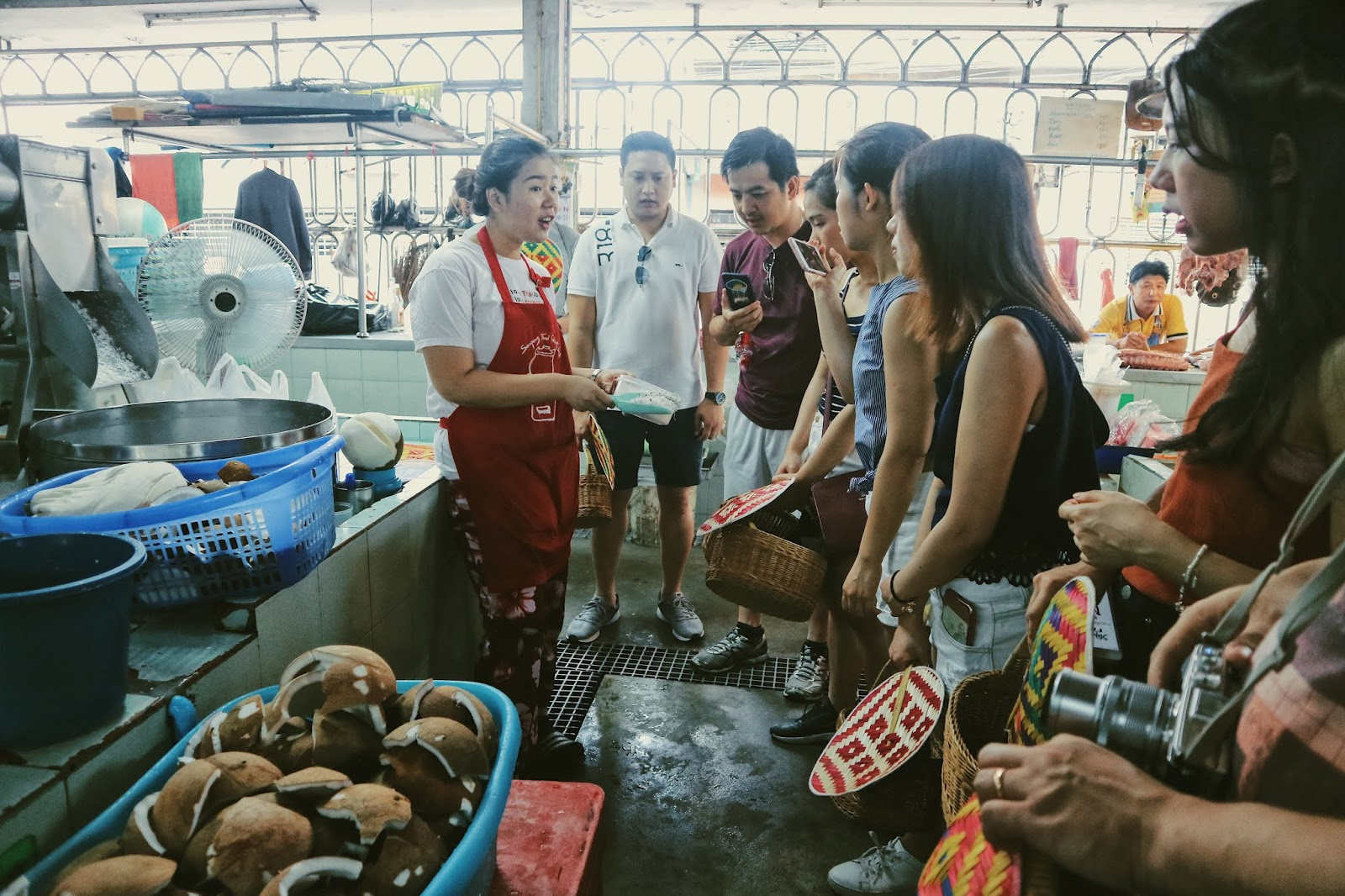 The group in the public market