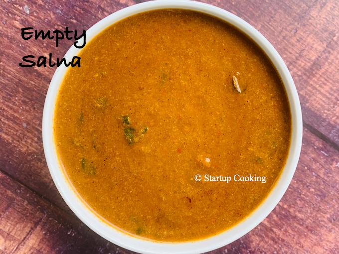 Empty Salna Recipe | Plain Salna Recipe | Salna for Biryani | Startup Cooking