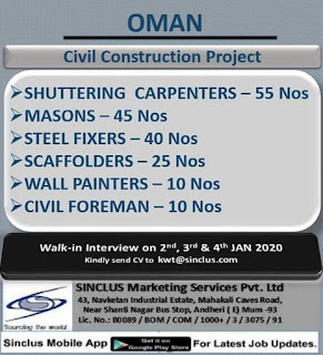 Civil Construction Project in Oman