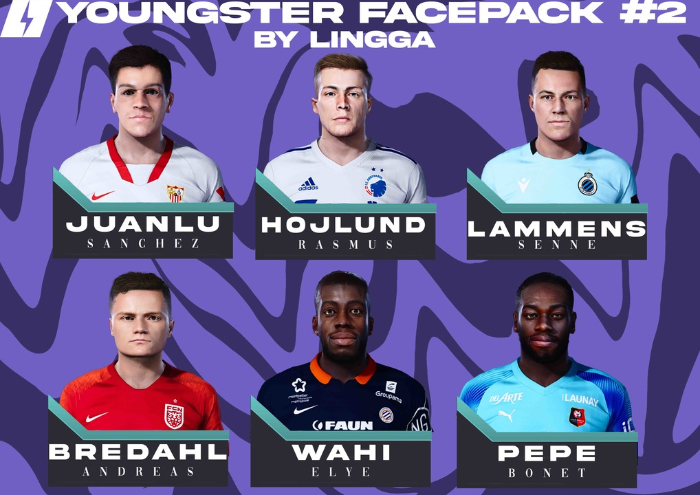 PES 2021 Youngster Facepack #2