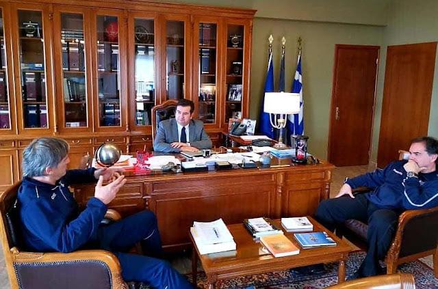 Συνάντηση Μαλτέζου με ομοσπονδιακούς προπονητές