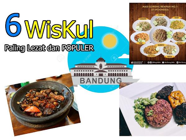 6 Wisata Kuliner Bandung Paling Lezat dan Populer