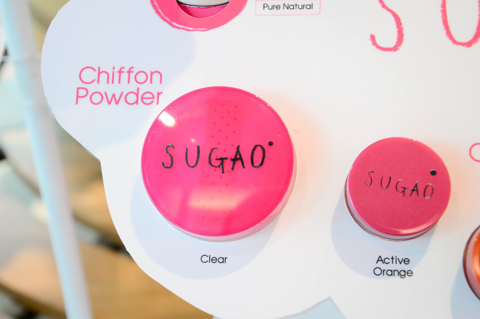 sugao chiffon powder review