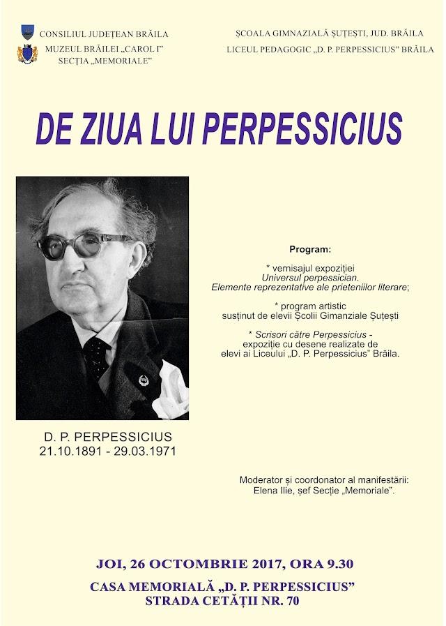 DE ZIUA LUI PERPESSICIUS