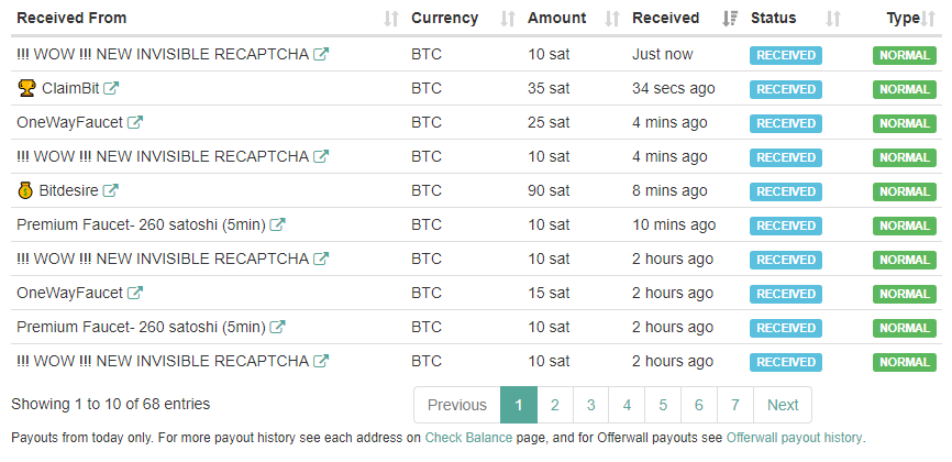 Paying bitcoin faucet direct to Faucethub - Make money in Cryptocurrency