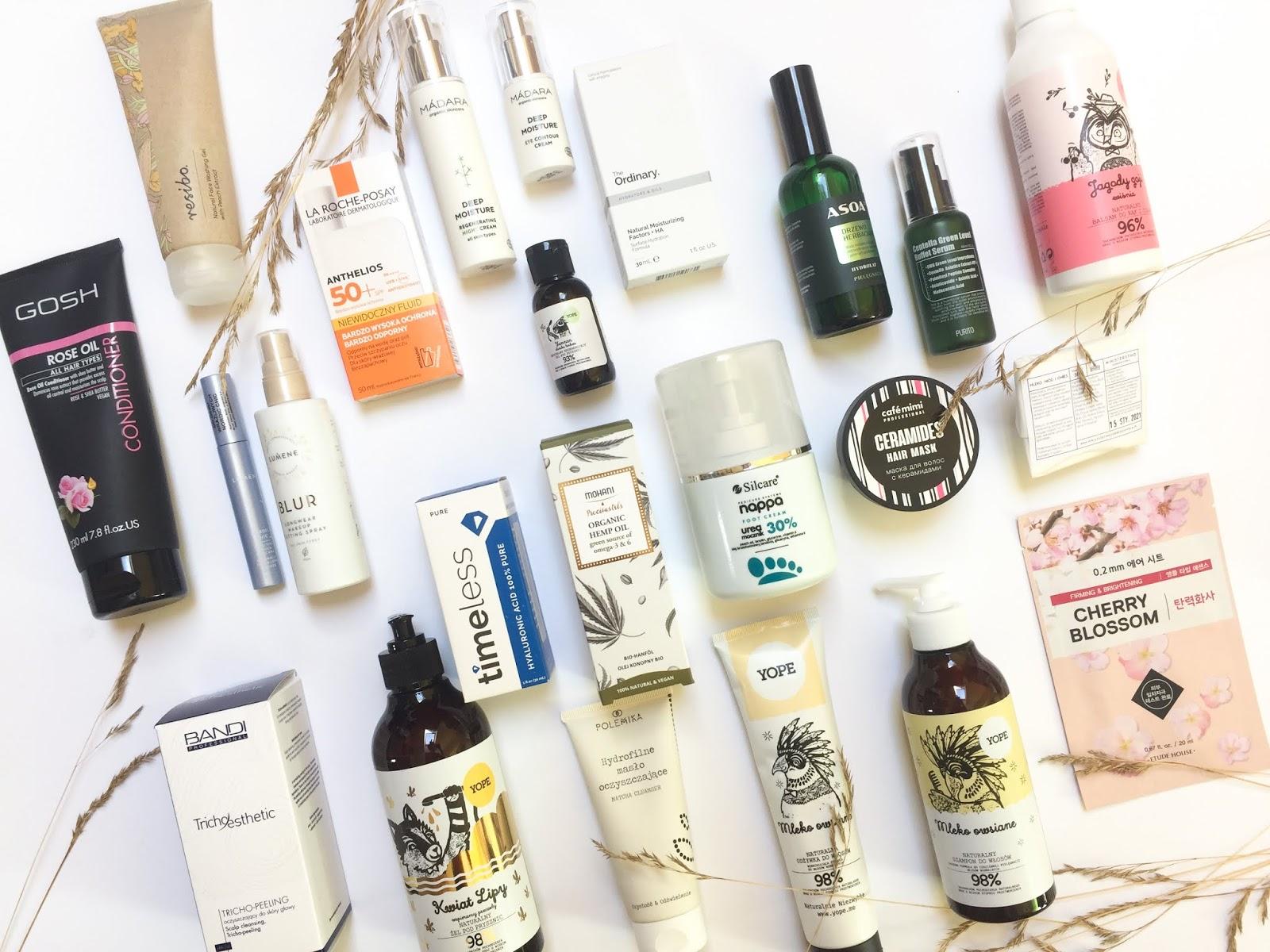 Ostatnie nowości, dużo naturalnych kosmetyków, nowa pielęgnacja (I super news dla fanów Yope!) | Resibo, Madara, Lumene, Yope, Timeless, Asoa, Purito i inne