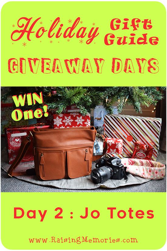 Holiday Gift Guide Giveaway Camera Bag