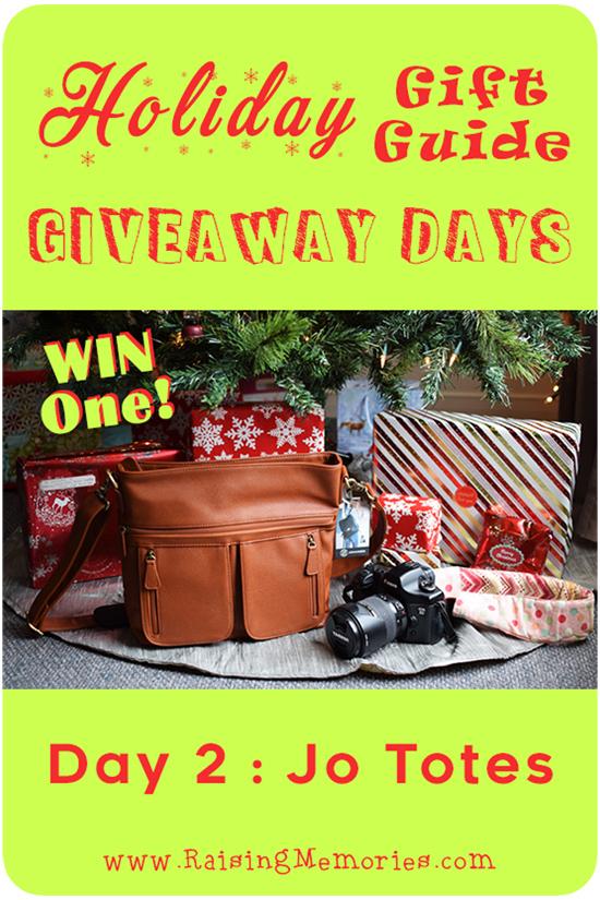 Holiday Gift Guide Giveaway Camera Bag
