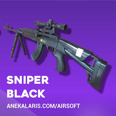 Sniper Black Spring Plus Box