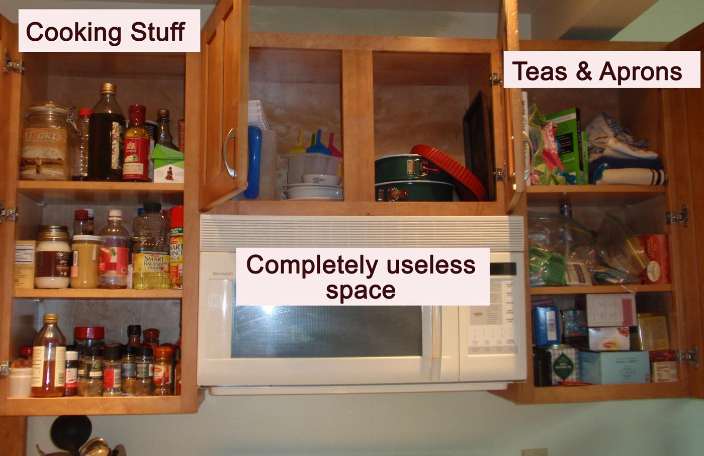My Great Challenge: Kitchen Cabinet Organization