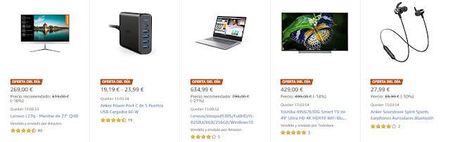 Ofertas Amazon 28 enero 2019