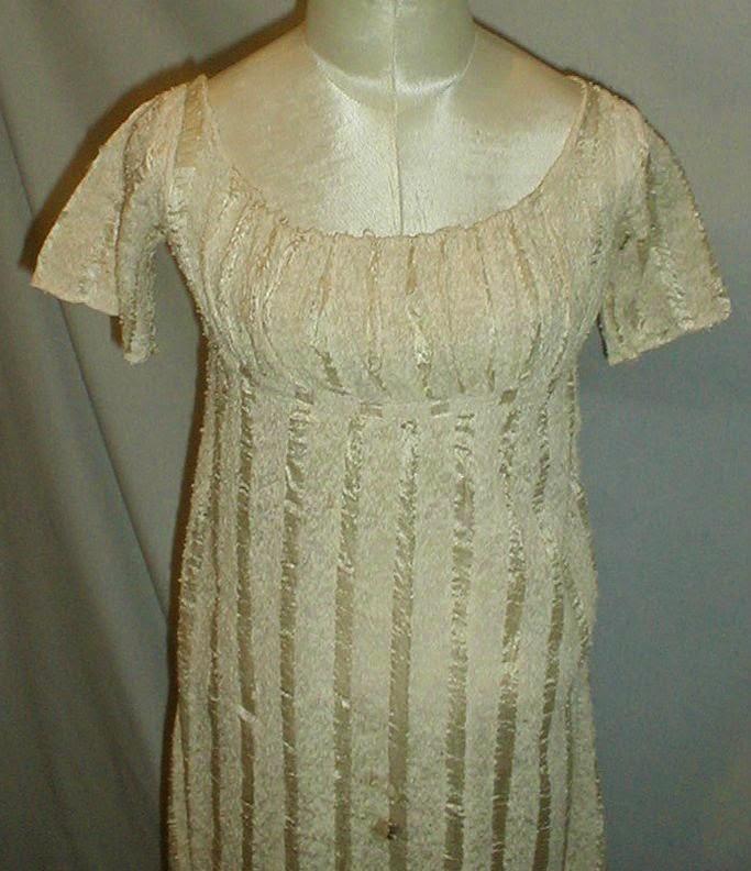 All The Pretty Dresses: Regency Era Striped Dress