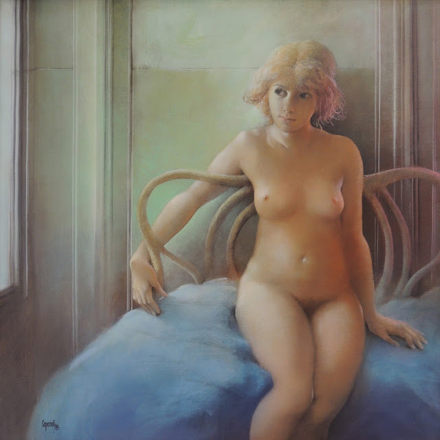 Glauco Capozzoli pintura figurativa en Gaudifond Arte