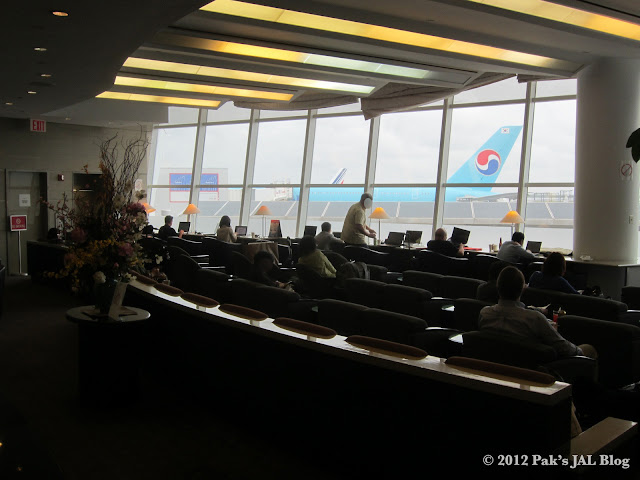 JAL Sakura Lounge at New York JFK Terminal 1