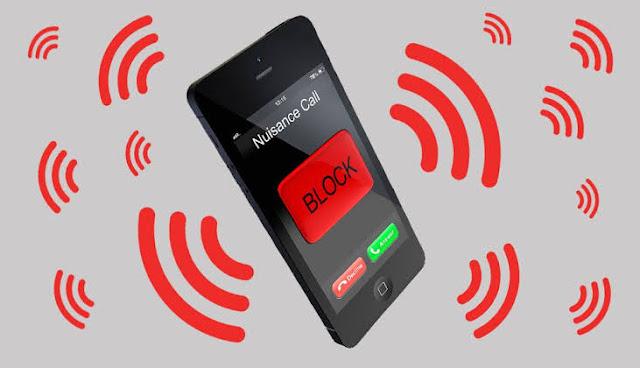 خاصية الهاتف مغلق او غير متاح مع معرفة اسم المتصل