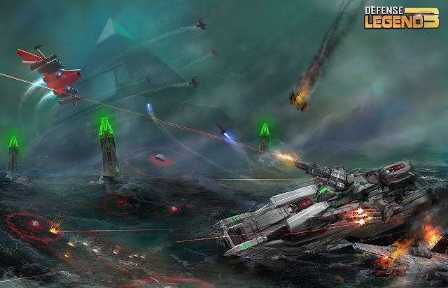 Defense Legend 3: Future War v2.3.96 MOD Update