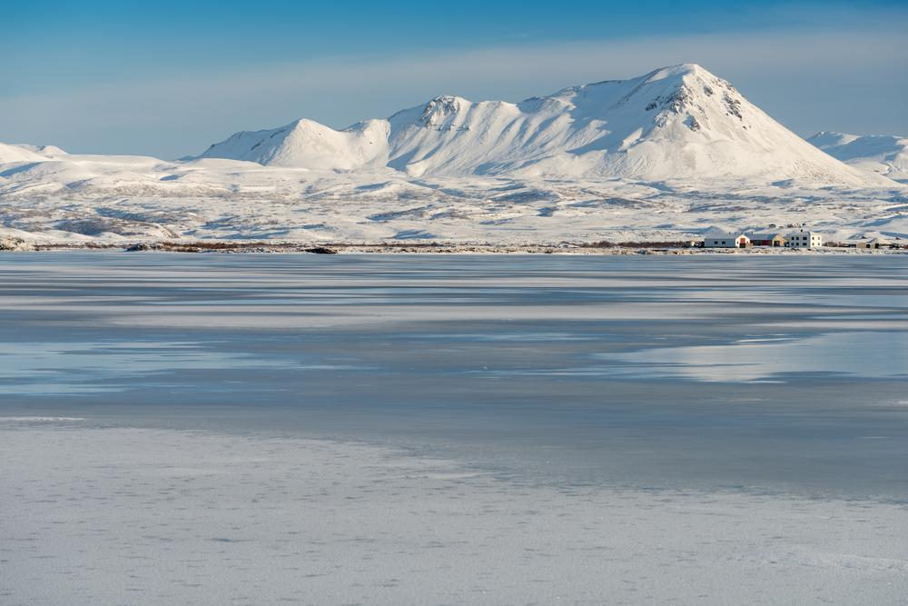 Route  Islande En Fevrier