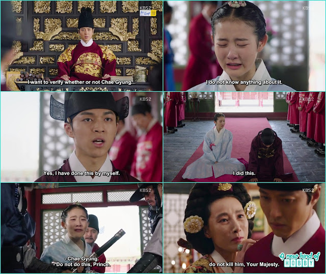 prince yeok took all the blame for chae kyung - Seven Day Queen: Episode 4 korean Drama