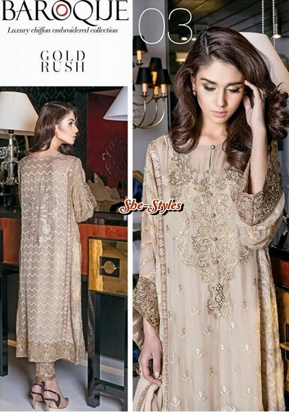 f87380be61 In this recent winter formals collection 2015 by Baroque you will find 10  amazing and scintillating embroidered luxury chiffon dresses that are  filled with ...