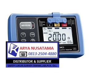 Jual Hioki FT6031-50 Digital Earth Tester di Bengkulu