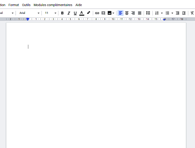 Start working on Google docs