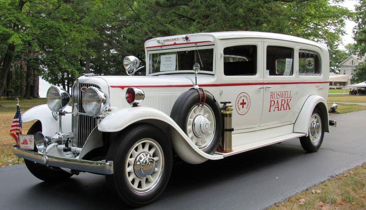 Just A Car Guy: 1932 Nash Series 990 Ambulance, originally ...