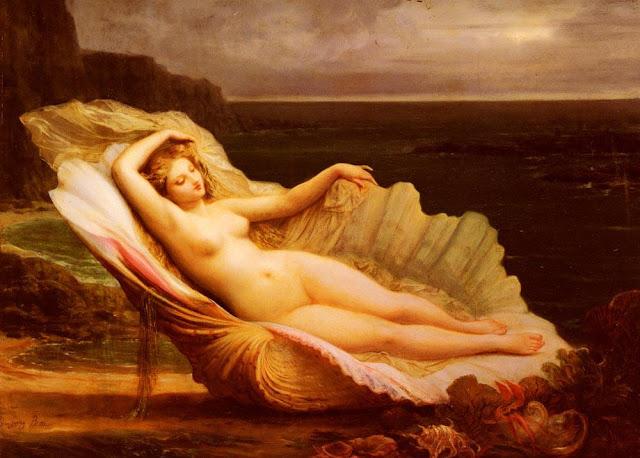 Deusa Venus retratada por Henri Pierre Picou, século 19