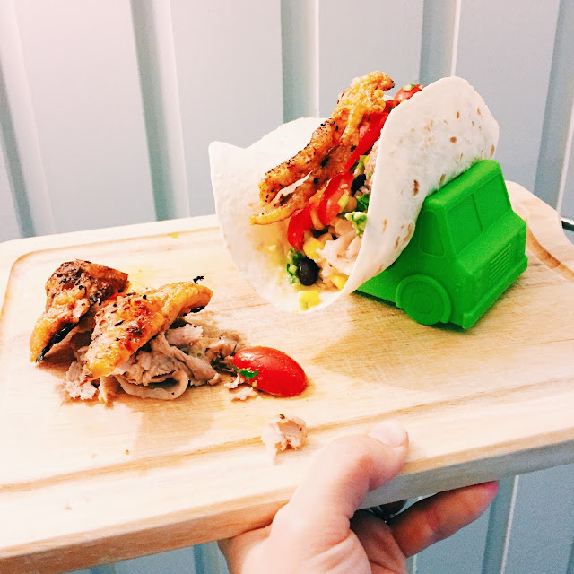 GoodFoodWeek's food truck inspired pulled pork tacos
