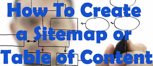 Install Sitemap/ Table of Content On Blogger