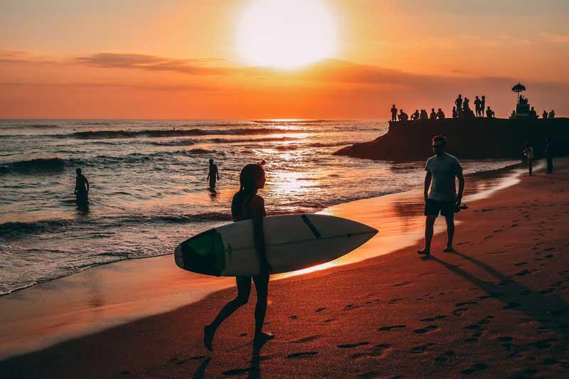 Fasilitas Pantai Echo Bali