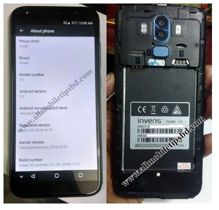 Invens V3 Flash File Care Firmware Without password Free Download