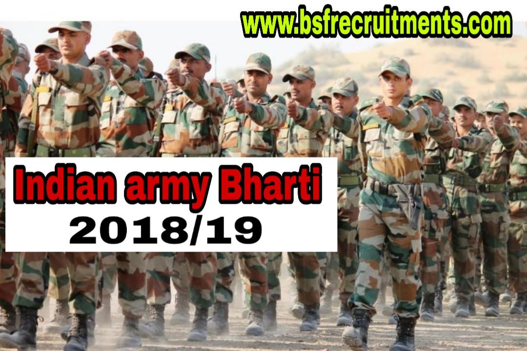 ARMY RECRUITMENT RALLY Jalandhar cantt 2018/19