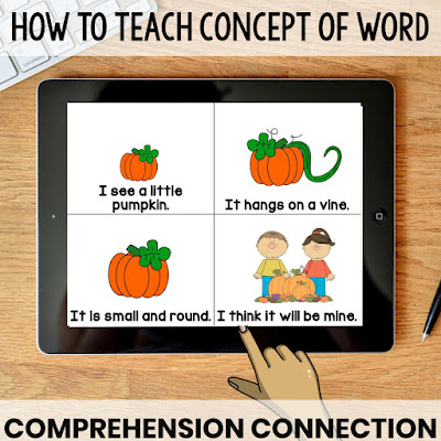 #conceptofword isn't just about tracking print. In this post, you'll learn ways you can use COW poems to teach many emergent reader skills.