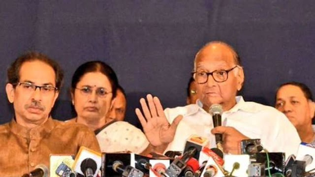 Sharad Pawar parades NCP MLAs who were with nephew Ajit during oath taking