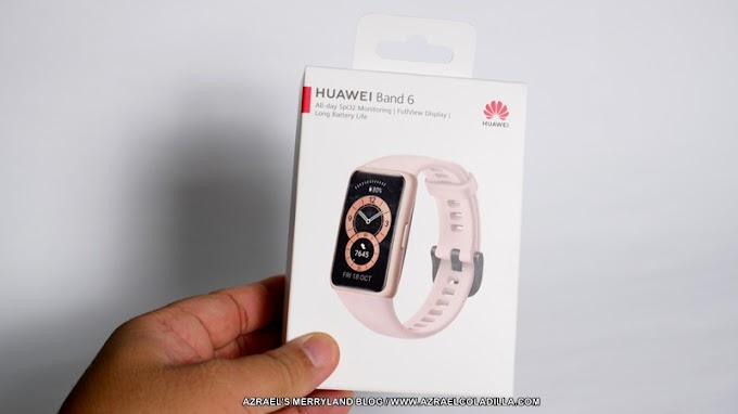 Unboxing and set up: Huawei Band 6