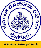 KPSC Group B Group C Result
