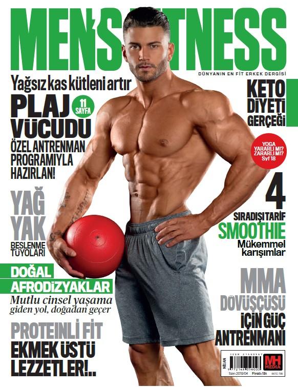 Men's Fitness Nisan 2019 Dergi PDF indir