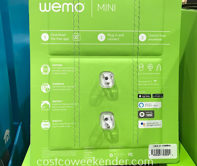 Costco 1068540 - Belkin Wemo Mini Wi-Fi Smart Plug: great for any home