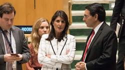Cựu Đại Sứ Hoa Kỳ Tại Liên Hợp Quốc Bà Nikki Haley Đến Thăm Israel Lần Đầu Tiên