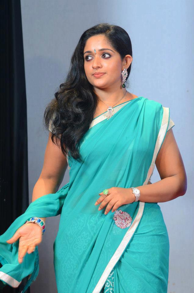 Actress Kavya Madhavan Saree