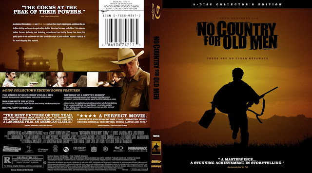 No Country For Old Men Bluray Cover