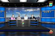 PPKM Level 4 Radio Dan TV Bhayangkara Polres Minahasa Gelar Dialog Polisi Menyapa
