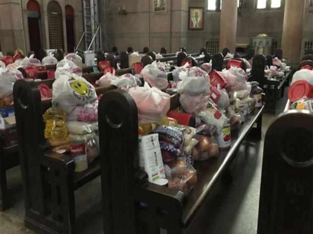 bantuan gereja katolik bagi umat yang terdampak virus corona