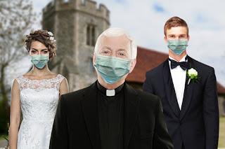 كنيسة إنجلترا: 5 أشخاص فقط يمكنهم حضور حفلات الزفاف بالاضافة الى العروس والعريس